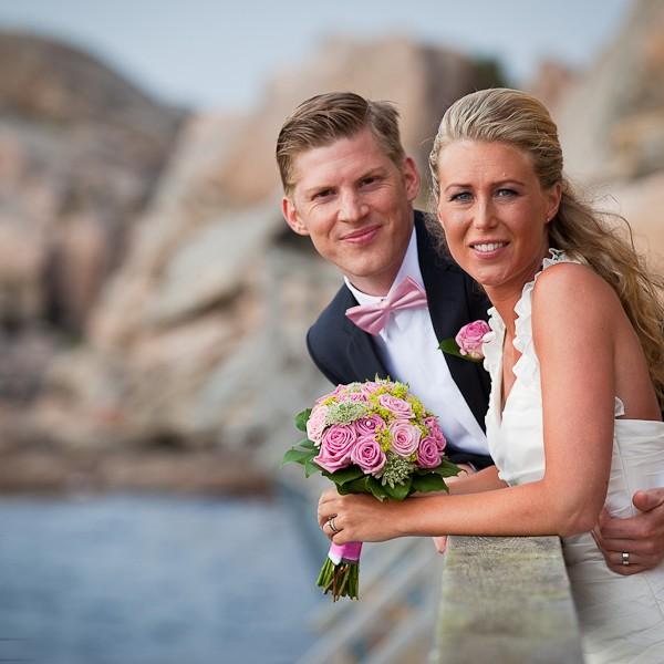 Bröllop på Smögen