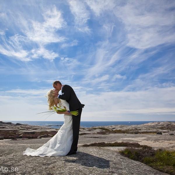 Bröllop på Hållö i augusti
