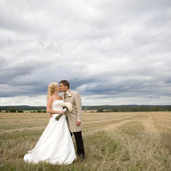 underbara bilder från ett härligt bröllop